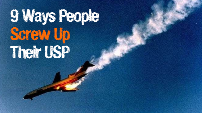 9 ways people screw up their USP